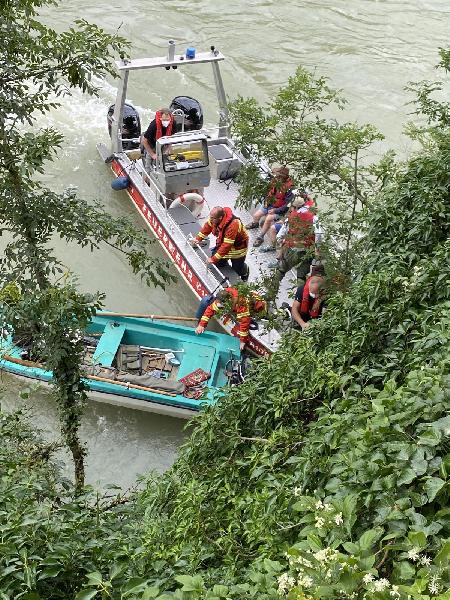 Unfall mit Wasserfahrzeug